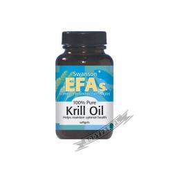 Swanson EFA Krill Oil - 60 kaps.