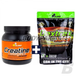 Olimp Creatine Monohydrate Powder - 550g + Dextrex Juice - 1000g