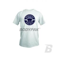 BODYPAK - T-Shirt BODYPAK SOCIETY Light biały