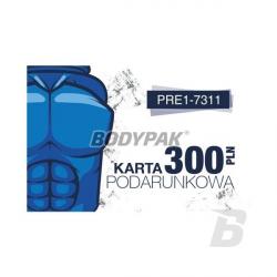 BODYPAK Karta Podarunkowa 300 PLN