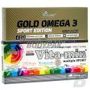 Olimp VITA-MIN Multiple Sport - 60 kaps. + Gold Omega 3 Sport Edition - 120 kaps.