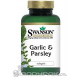 Swanson Garlic & Parsley - 250 kaps.