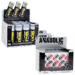 FA XTREME Anabolic Stack - 120kaps. + 12x Napalm Shot - 60ml GRATIS