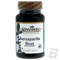 Swanson Sarsaparilla 450mg - 60 kaps.