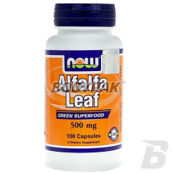 NOW Foods Alfalfa - 100 kaps.