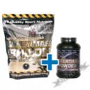 Hi Tec Whey Mass Builder - 3000g  + Creatine powder - 250g