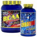 Fitmax BCAA + Glutamine - 600g + Kreatyna Creapure - 600g
