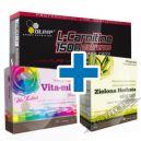 Olimp L-Carnitine 1500 Extreme - 120 kaps. + VITA-MIN Plus Dla Kobiet - 30 kaps. + Zielona Herbata - 60 kaps.
