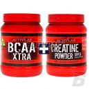 Activlab Bcaa Xtra - 500g + Creatine Powder - 500g