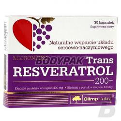 Olimp Trans Resveratrol 200+ - 30 kaps.