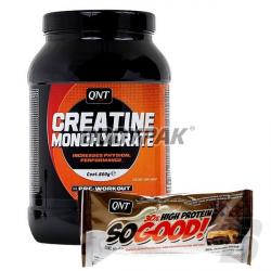 QNT CREATINE - 800g + QNT So Good Bar - 60g