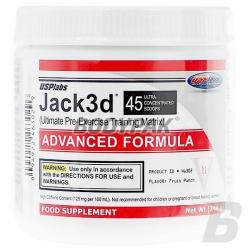 USP Labs Jack3d Advanced - 250g
