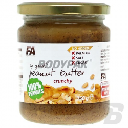 FA So Good! Peanut Butter Crunchy 100% - 250g