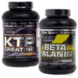 Hi Tec KTP Creatine - 200 kaps. + Hi Tec Beta Alanin - 200 kaps.