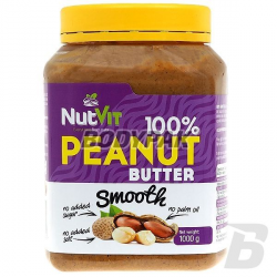 Ostrovit NutVit 100% Peanut Butter Smooth - 1000g