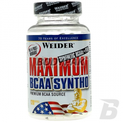 Weider Maximum BCAA Syntho - 120 kaps.