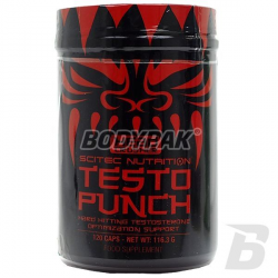 Scitec Testo Punch - 120 kaps.