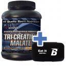 Hi Tec Tri-Creatine Malate - 200 kaps. + Pillbox Bodypak