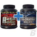 Hi Tec Beta Bolic - 500g + Hi Tec Tri Creatine Malate - 200 kaps.