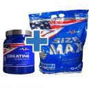 MEX Size Max - 6795g + Pure Creatine Monohydrate - 540g