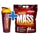 PVL Mutant Mass - 6,8kg + PVL Shaker Mutant