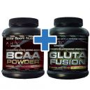 Hi Tec BCAA Powder - 500g + Hi-Tec Gluta Fusion - 200 kaps.