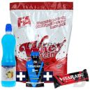 FA Whey Protein - 908g + Vitarade Endurance Bar - 60g + Vitarade Gel (przed) - 45g + Carborade Isotonic Drink – 750ml FREE
