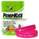 SportDefinition PumpKick – 435g +  That's The Whey opaska na rękę [PINK] - 1 szt.