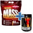 PVL Mutant Mass - 6,8kg + Universal Nutrition Creatine Powder - 500g