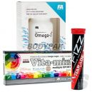 Olimp VITA-MIN Multiple Sport - 60 kaps. + FA OMEGA 3 - 120 kaps. + VITARADE FIZZ VITAMINS AND ELECTROLYTES - 20 tabl.