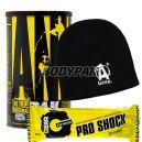 Universal Animal Pak EU - 44 sasz. + Universal Czapka Animal krótka + Gear Pro Shock Protein Bar - 80g [GRATIS]