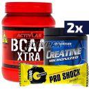 Activlab BCAA Xtra - 500g + 2x Dymatize Creatine - 300g + Gear Pro Shock Protein Bar – 80g  [GRATIS]