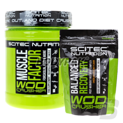 Scitec WOD Muscle Factor - 150 kaps. + WOD Balanced Recovery - 280g