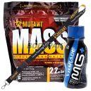 PVL Mutant Mass - 2,27kg  + PVL Mutant smycz - 1sz. + Vitarade Magnesium Energy Shot - 100ml