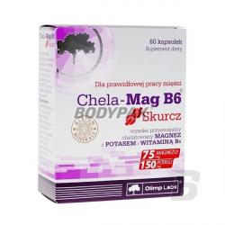 Olimp Chela-Mag B6 Skurcz - 60 kaps.